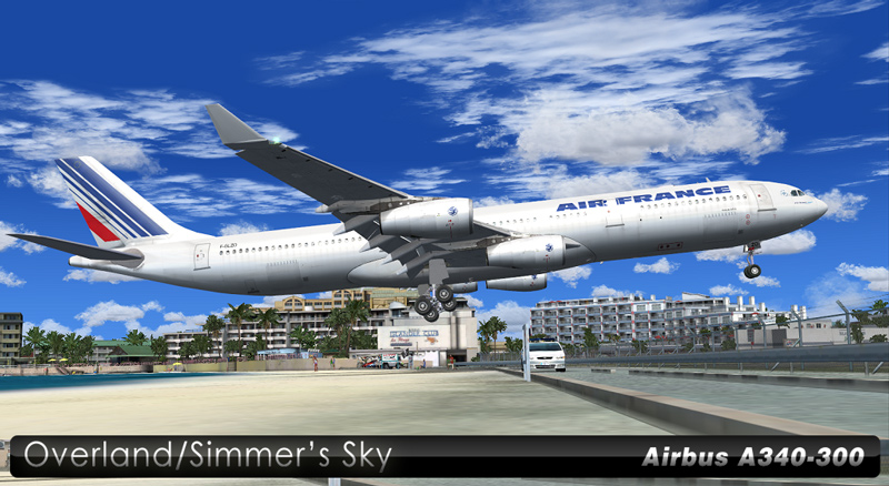 Air France A340-300 OC   nixpilot