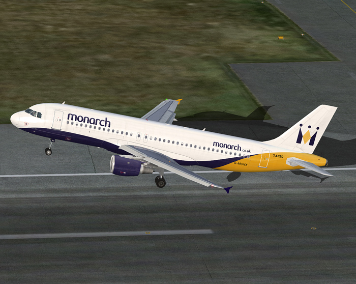 Monarch Airlines A320 – Project Airbus | nixpilot